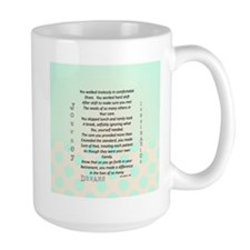 Retired Nurse Poem Mug