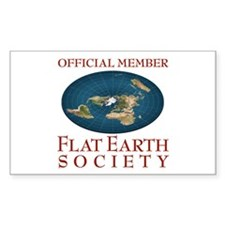 Flat Earth Society - Decal
