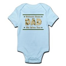Welcome Home Dad Body Suit