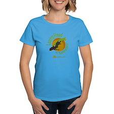 Women's Dark Leaping Ahead of Extinction T-shirt