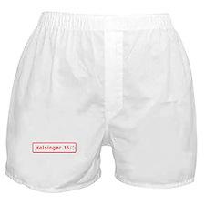 Roadmarker, Helsingor - Denmark Boxer Shorts