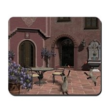Quiet Courtyard Mousepad