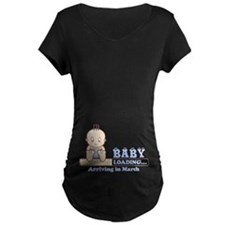 Arriving in March Maternity T-Shirt