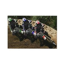 MotoCross - Rectangle Magnet