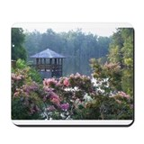 Gazebo in Springtime Mousepad