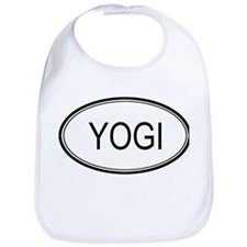 Yogi Oval Design Bib