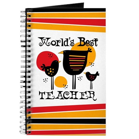 World's Best Teacher Journal