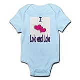 Lolo and Lola Infant Bodysuit