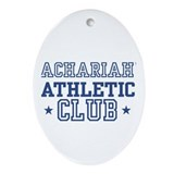 Zachariah Oval Ornament