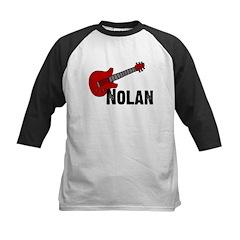 Nolan - Guitar Kids Baseball Jersey