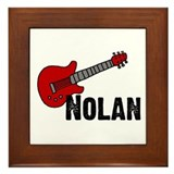 Nolan - Guitar Framed Tile