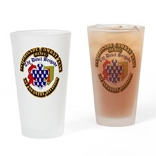 Army - 1st Infantry Div - 1st BCT Drinking Glass