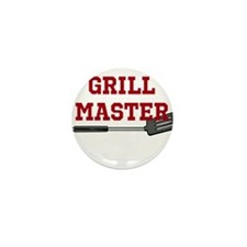 Grill Master Spatula in Red Mini Button (10 pack)
