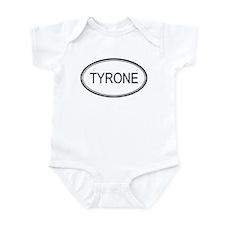 Tyrone Oval Design Onesie
