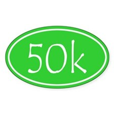 Lime 50k Oval Decal