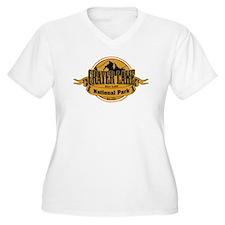 crater lake 3 Plus Size T-Shirt