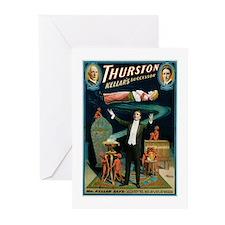 Thurston Magic Levitation Greeting Cards (Pk of 20
