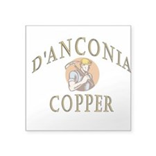 d'Anconia Copper Retro Miner Sticker