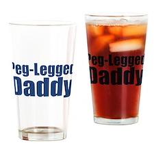 Peg-Legged Daddy Drinking Glass