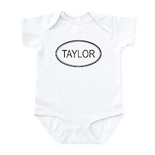 Taylor Oval Design Infant Bodysuit