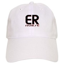 EMERGENCY NURSE 2 RED Baseball Baseball Cap