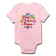 Peace Love Drama Infant Bodysuit
