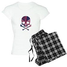 Union Jack Skull Pajamas