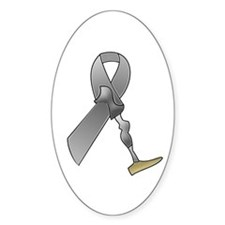Amputee Ribbon Decal