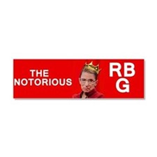 NotoriousRBG Car Magnet 10 x 3
