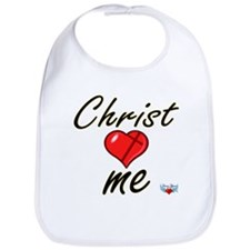Christ loves me Bib