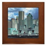Fantastic Boston Framed Tile
