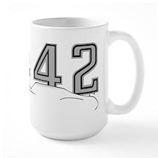 Cutlass Silhouette - 442 logo up Mug