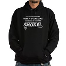 Unique Smoke designs Hoodie