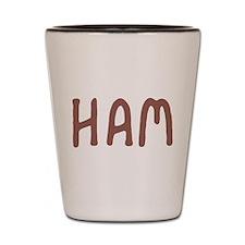Ham Shot Glass
