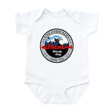 USS Chicago SSN 721 Infant Bodysuit