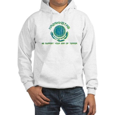 Kazakhstan - We Support Your Hooded Sweatshirt