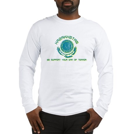 Kazakhstan - We Support Your Long Sleeve T-Shirt