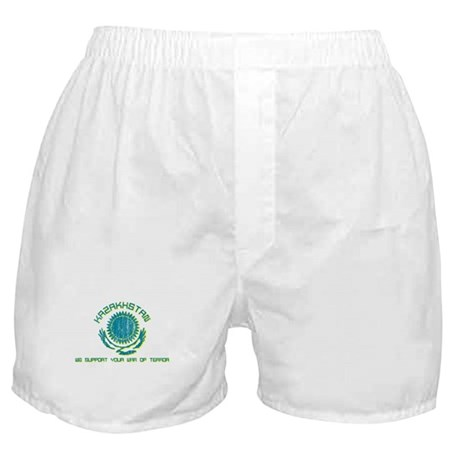 Kazakhstan - We Support Your Boxer Shorts