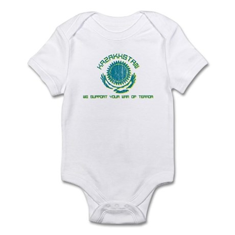 Kazakhstan - We Support Your Infant Bodysuit