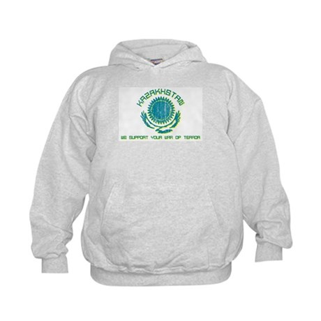 Kazakhstan - We Support Your Kids Hoodie