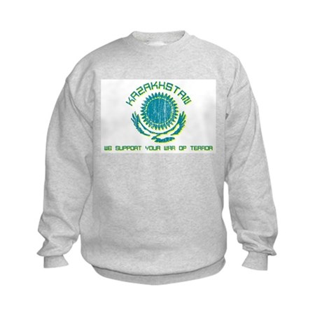 Kazakhstan - We Support Your Kids Sweatshirt