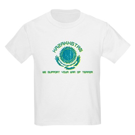 Kazakhstan - We Support Your Kids T-Shirt