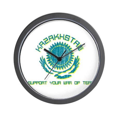 Kazakhstan - We Support Your Wall Clock