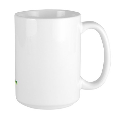 Kazakhstan - We Support Your Large Mug