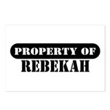 Property of Rebekah Postcards (Package of 8)