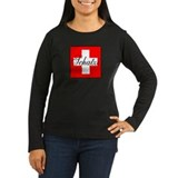 Schatzi Women's Long Sleeve Black T-Shirt