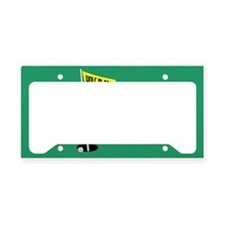 Golf Hole in One License Plate Holder