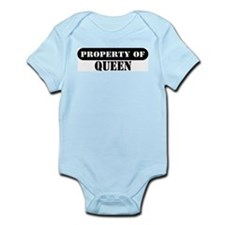 Property of Queen Infant Bodysuit