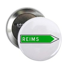 "Roadmarker Reims - France 2.25"" Button (100 pack)"