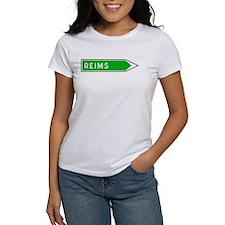 Roadmarker Reims - France Tee